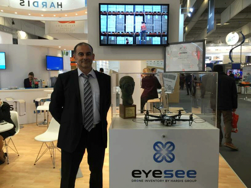 The EyeSee Inventory-Taking Drone, winner of the SITL 2015 Innovation Awards