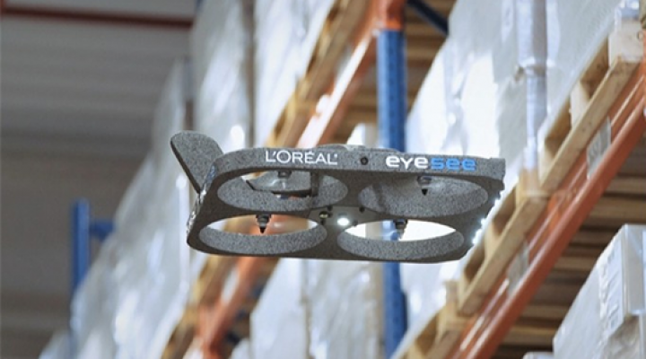 L'Oréal approves the Eyesee inventory drone solution after a successful trial